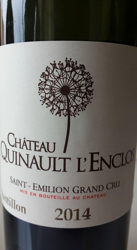 Château Quinault L'enclos 2014 – Saint-Emilion Grand Cru