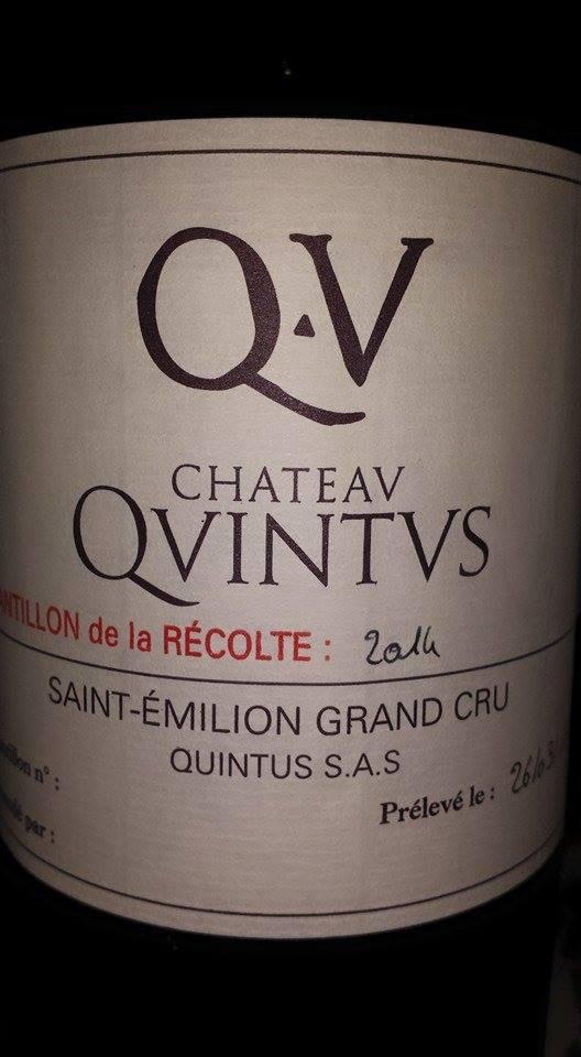 Château Quintus 2014 – Saint-Emilion Grand Cru