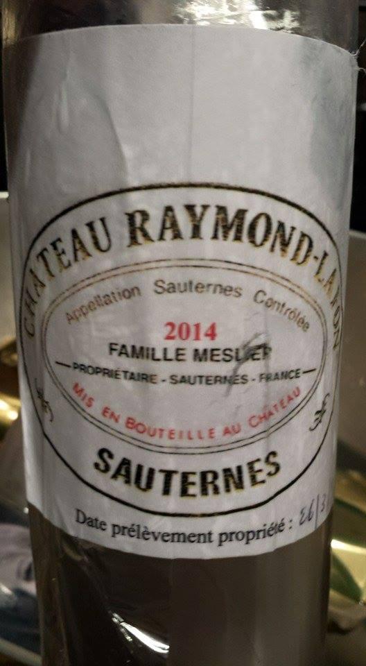 Château Raymond Lafon 2014 – Sauternes