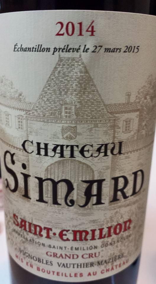 Château Simard 2014 – Saint-Emilion Grand Cru