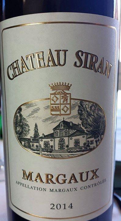 Château Siran 2014 – Margaux