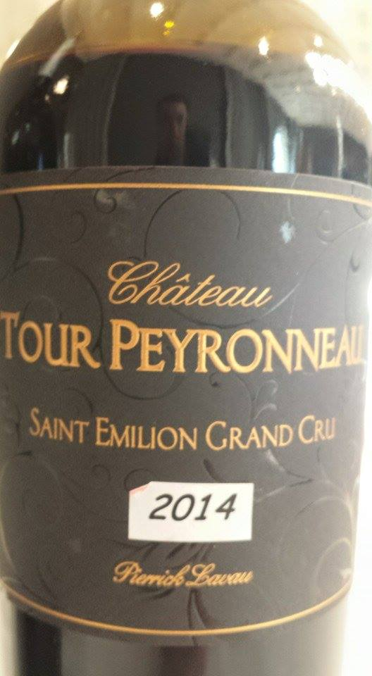 Château Tour Peyronneau 2014 – Cuvée Pierrick Lavau – Saint-Emilion Grand Cru
