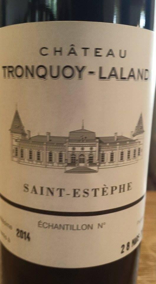 Château Tronquoy-Lalande 2014 – Saint-Estèphe