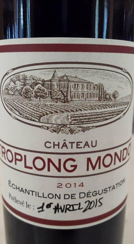 Château Troplong Mondot 2014 – 1er Grand Cru Classé B de Saint-Emilion