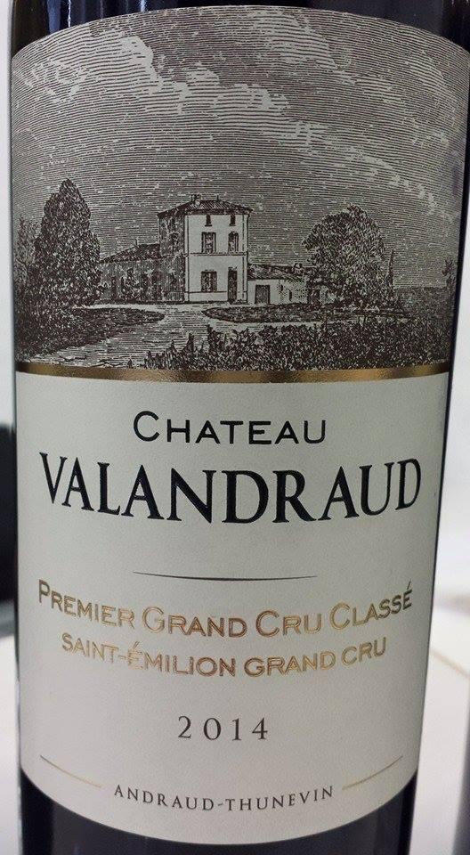 Château Valandraud 2014 – 1er Grand Cru Classé de Saint-Emilion