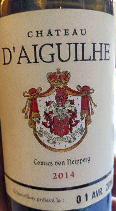 Château d'Aiguilhe 2014 – Bordeaux