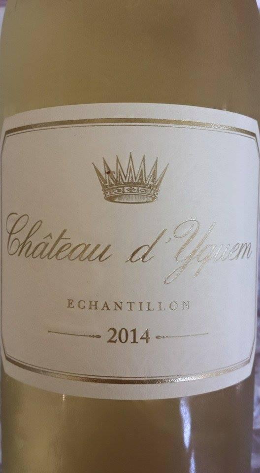 Château d'Yquem 2014 – 1er Cru Classé Supérieur à Sauternes