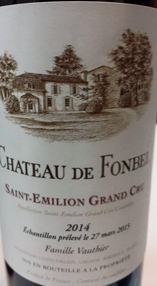 Château de Fonbel 2014 – Saint-Emilion Grand Cru