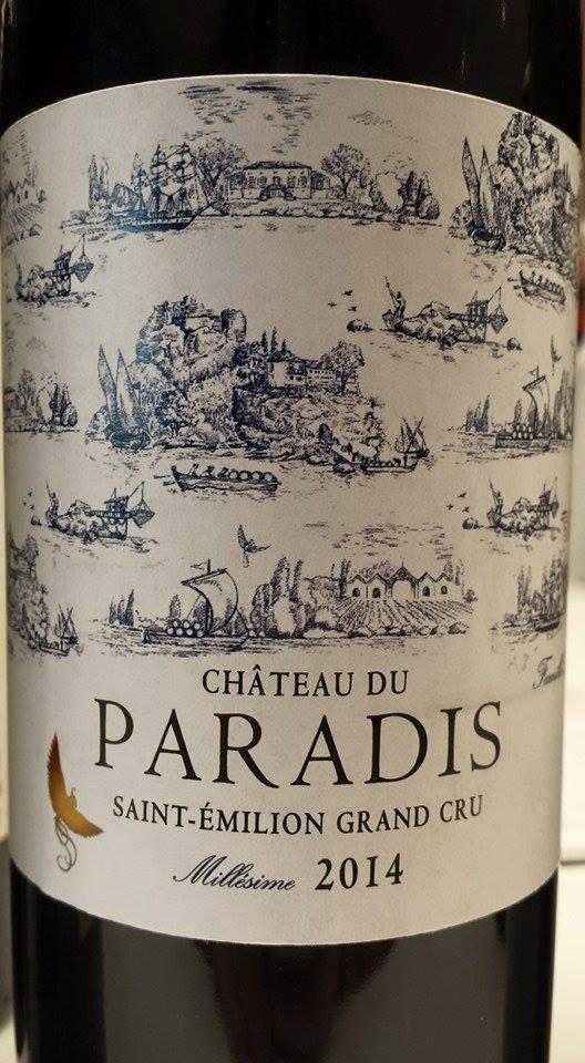 Château du Paradis 2014 – Saint-Emilion Grand Cru