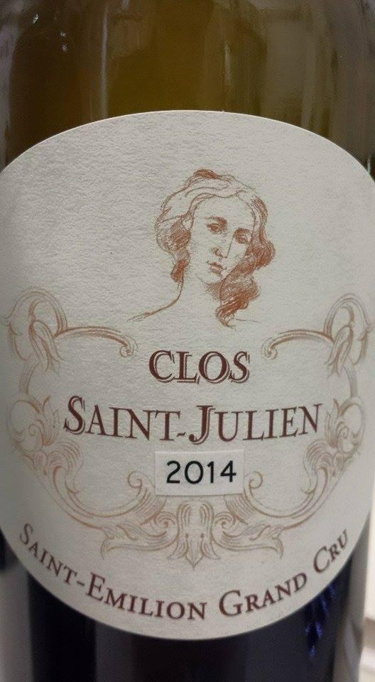 Clos Saint-Julien 2014 – Saint-Emilion Grand Cru