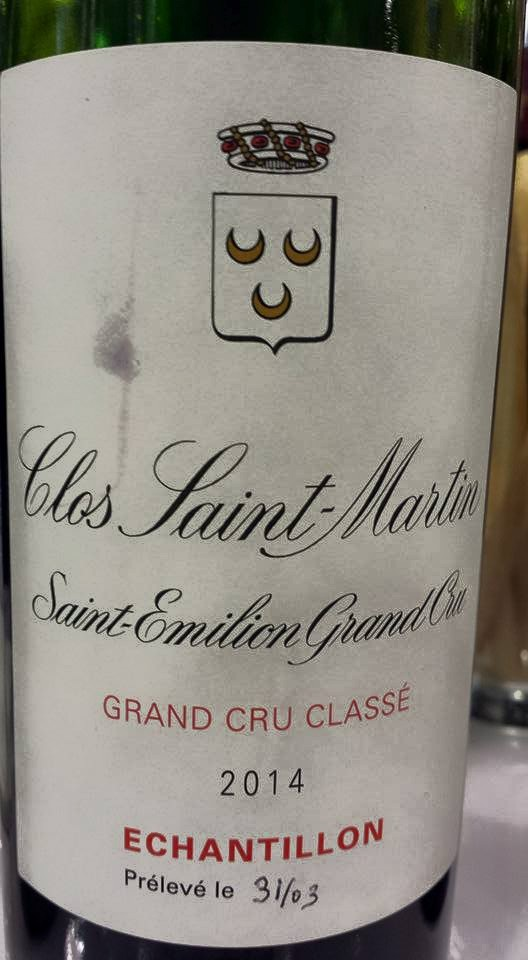 Clos Saint Martin 2014 – Saint-Emilion Grand Cru Classé