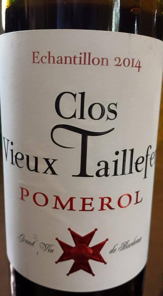 Clos Vieux Taillefer 2014 – Pomerol