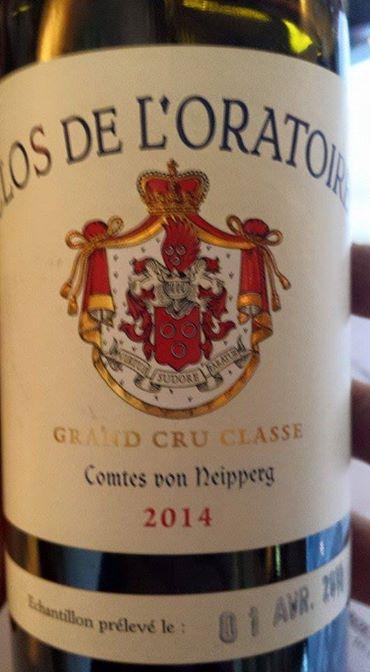 Clos de L'Oratoire 2014 – Saint-Emilion Grand Cru Classé A