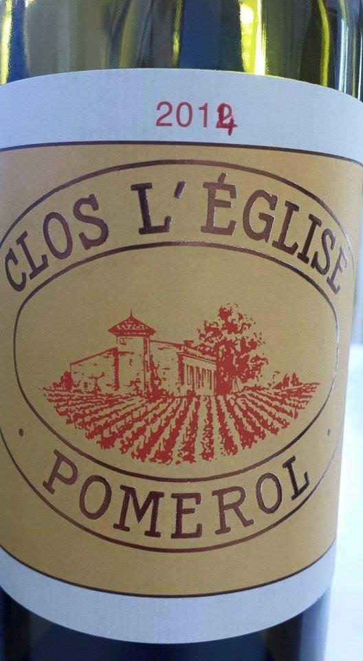Clos l'Eglise 2014 – Pomerol