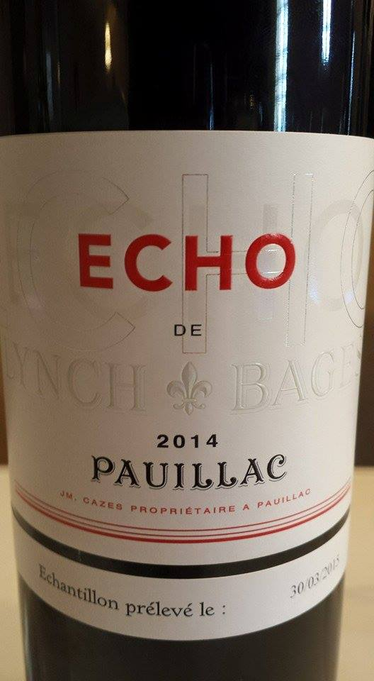 Echo de Lynch Bages 2014 – Pauillac
