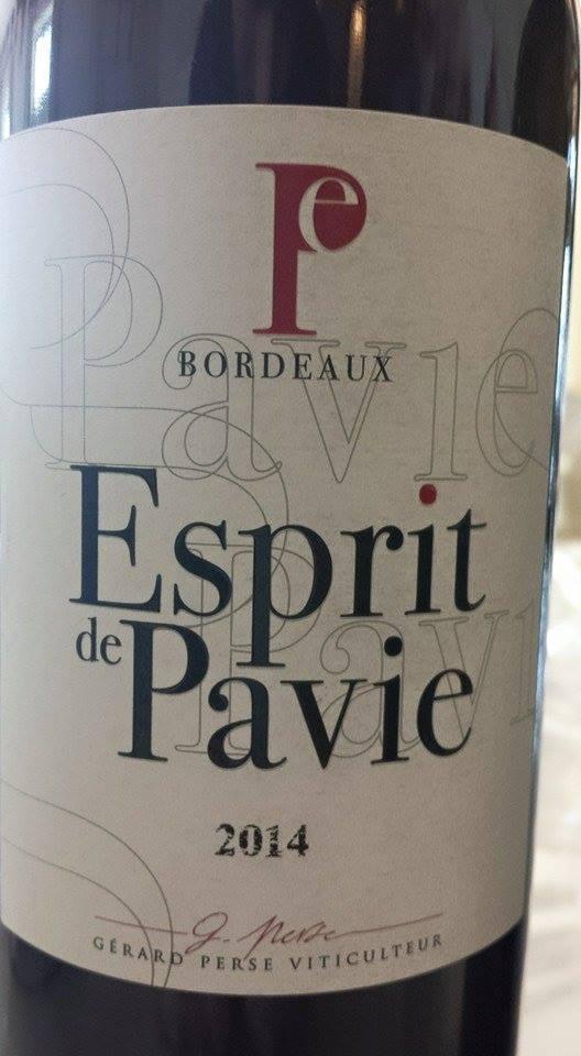 Esprit de Pavie 2014 – Bordeaux