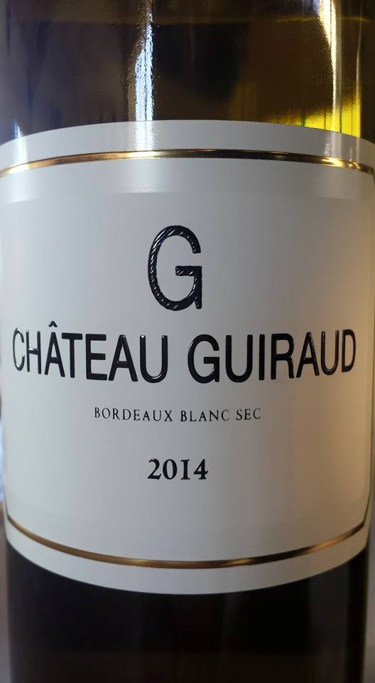 G de Guiraud 2014 – Bordeaux