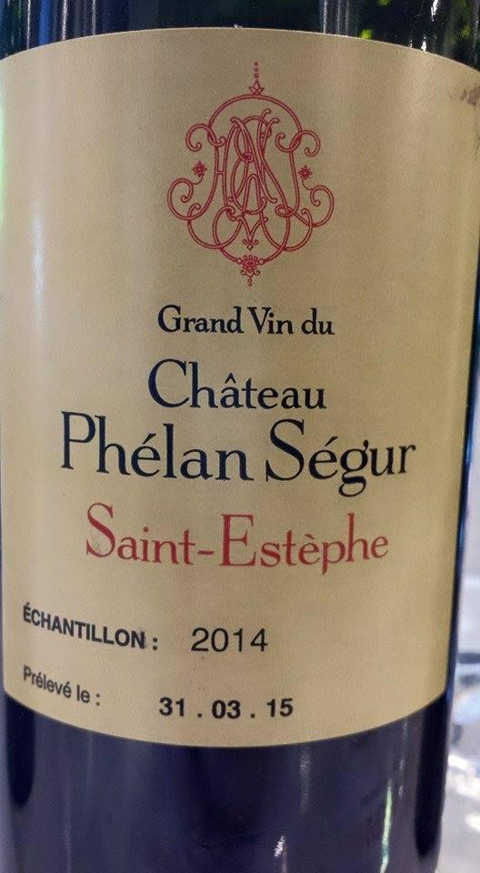 Grand Vin du Château Phélan Ségur 2014 – Saint-Estèphe