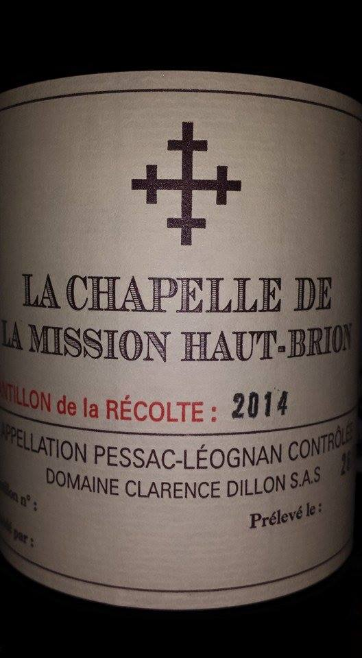 La Chapelle de la Mission Haut-Brion 2014 – Pessac-Léognan