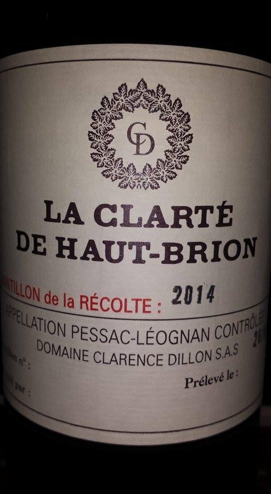 La Clarté de Haut-Brion 2014 – Pessac-Léognan