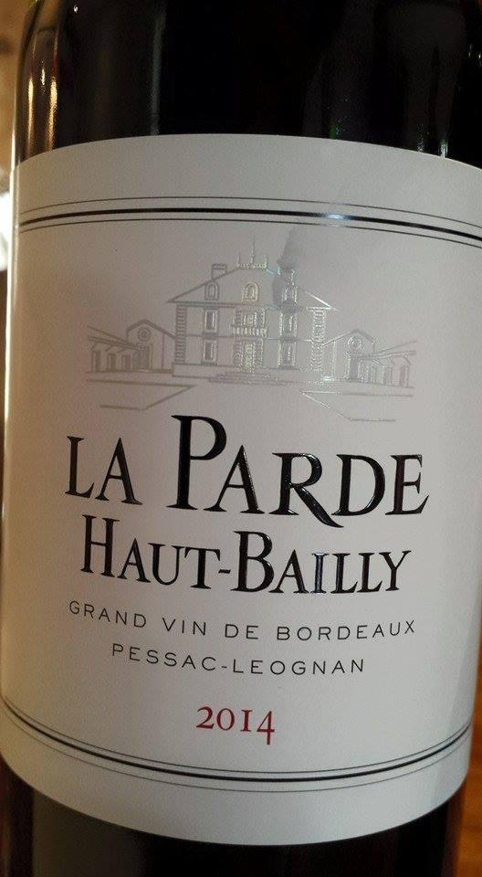La Parde Haut-Bailly 2014 – Pessac-Léognan