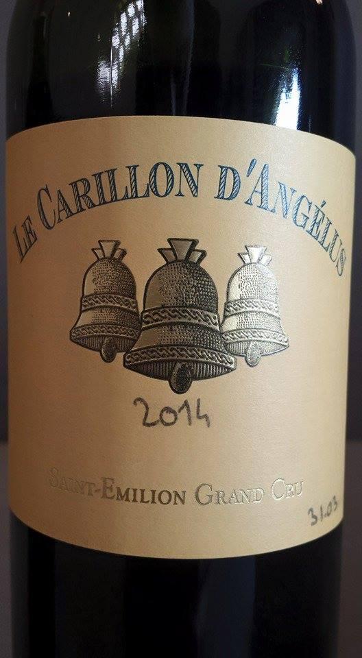 Le Carillon d'Angélus 2014 – Saint-Emilion Grand Cru