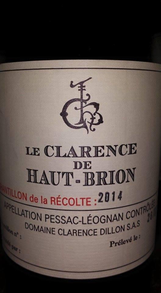 Le Clarence de Haut-Brion 2014 – Pessac-Léognan