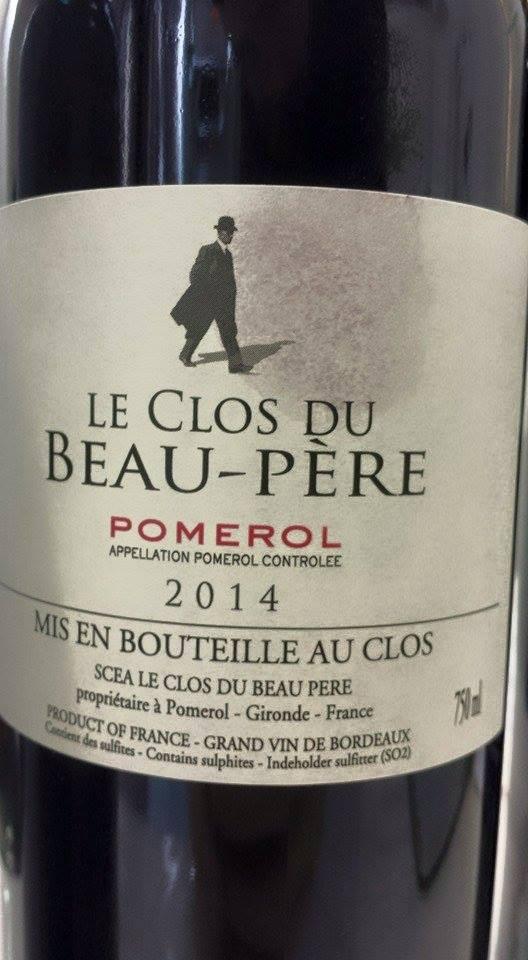 Le Clos du Beau-Père 2014 – Pomerol