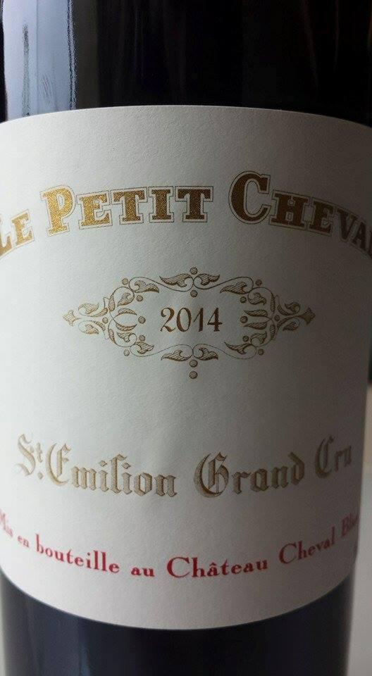 Le Petit Cheval 2014 – Saint-Emilion Grand Cru