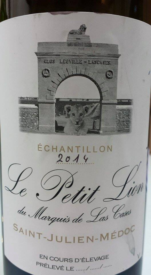 Le Petit Lion du Marquis de Las Cases 2014 – Saint-Julien