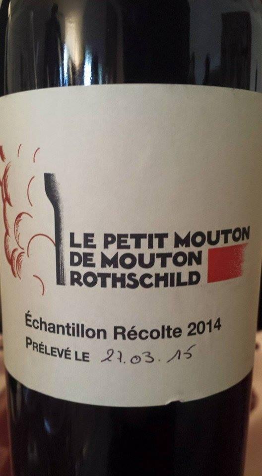 Le Petit Mouton de Mouton Rothschild 2014 – Pauillac