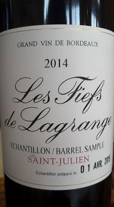 Les Fiefs de Lagrange 2014 – Saint-Julien