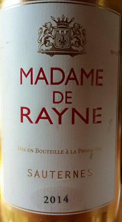 Madame de Rayne 2014 – Sauternes