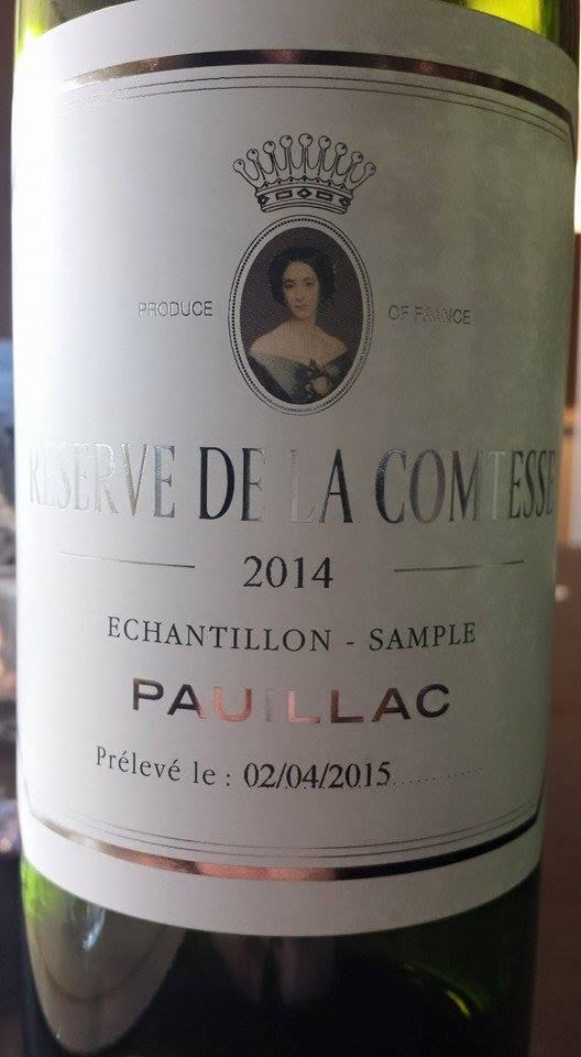 Réserve de la Comtesse de Lalande 2014 – Pauillac