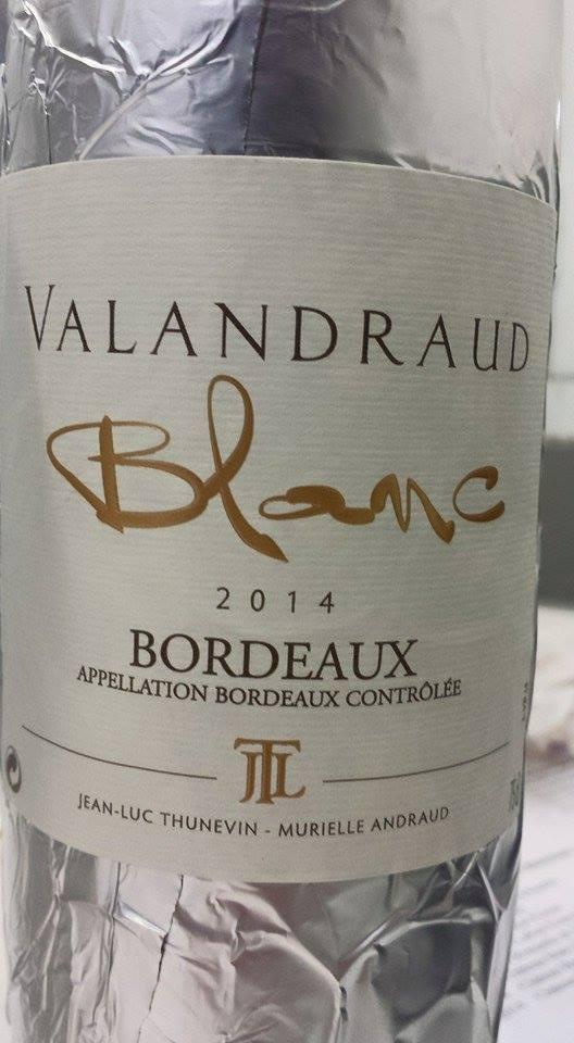 Valandraud Blanc 2014 – Bordeaux
