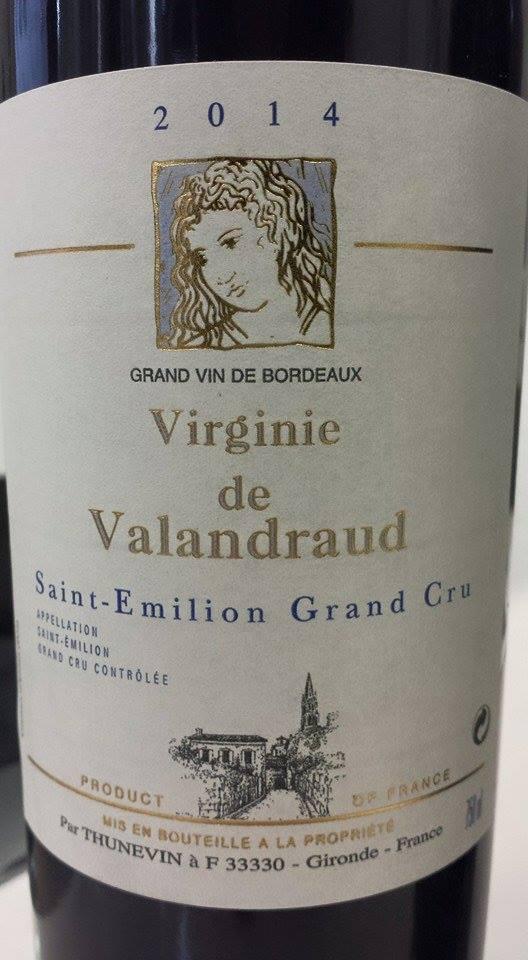 Virginie de Valandraud 2014 – Saint-Emilion Grand Cru