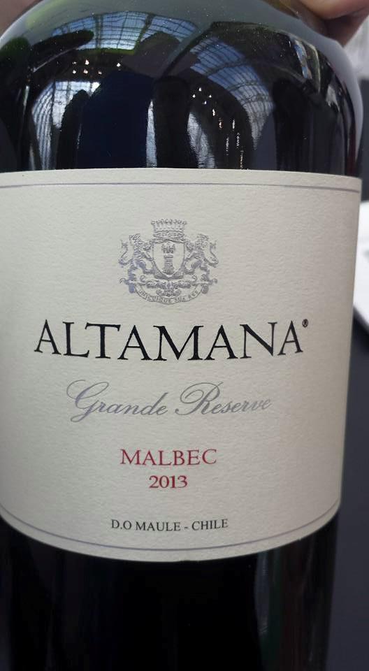 Altamana – Malbec 2013 Grande Reserve – D. O. Maule