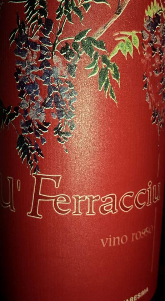 Azienda Agricola Quaresima – U'Ferracciu 2014 – Vino da Tavola Rosso