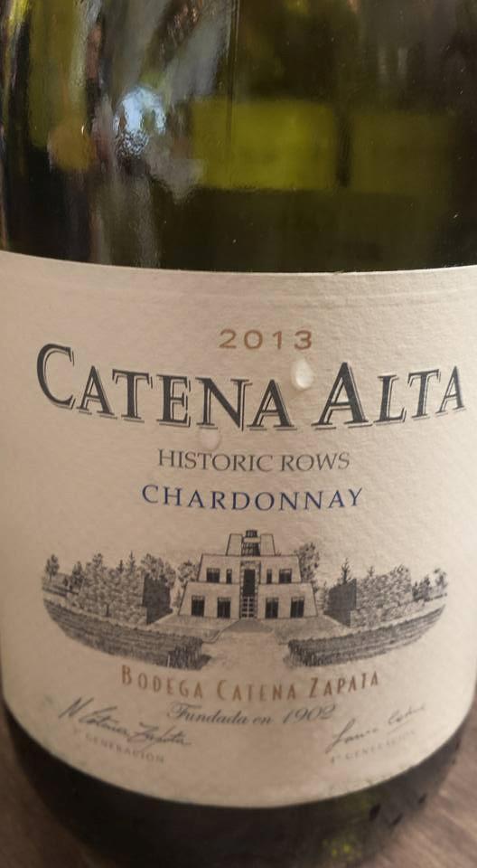Bodega Catena Zapata – Catena Alta – Chardonnay 2013 – Mendoza