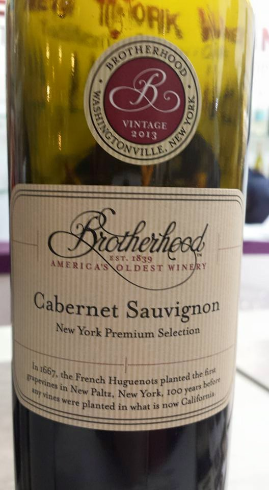 Brotherhood Winery – Cabernet Sauvignon 2013 – New York
