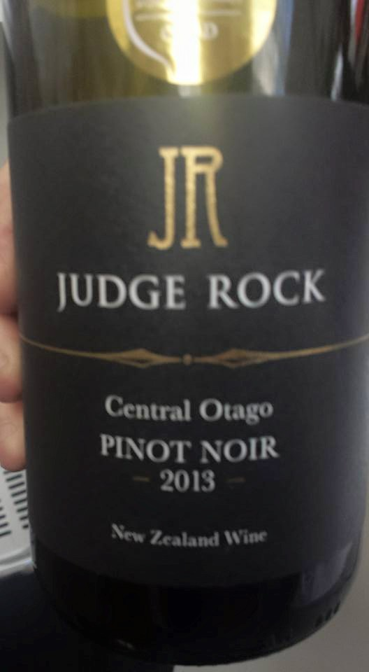 Judge Rock – Pinot Noir 2013 – Central Otago