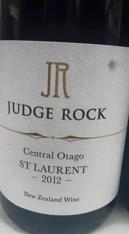 Judge Rock – St Laurent 2012 – Central Otago