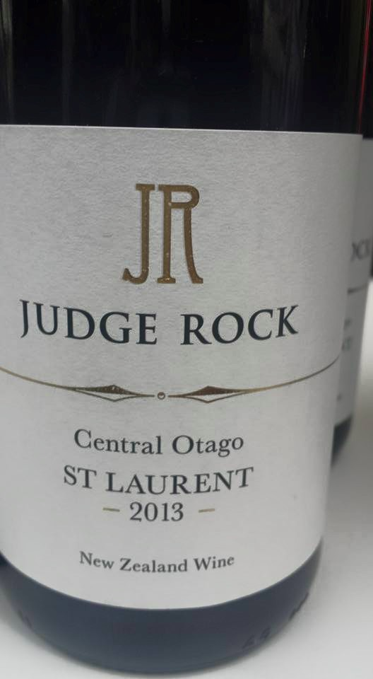 Judge Rock – St Laurent 2013 – Central Otago