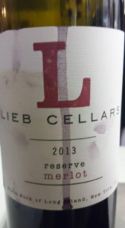 Lieb Cellars – Reserve Merlot 2013 – North Fork of Long Island