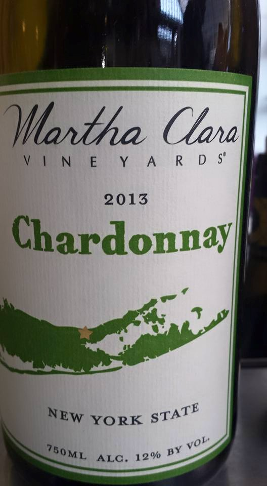 Martha Clara Vineyards – Chardonnay 2013 – New York State
