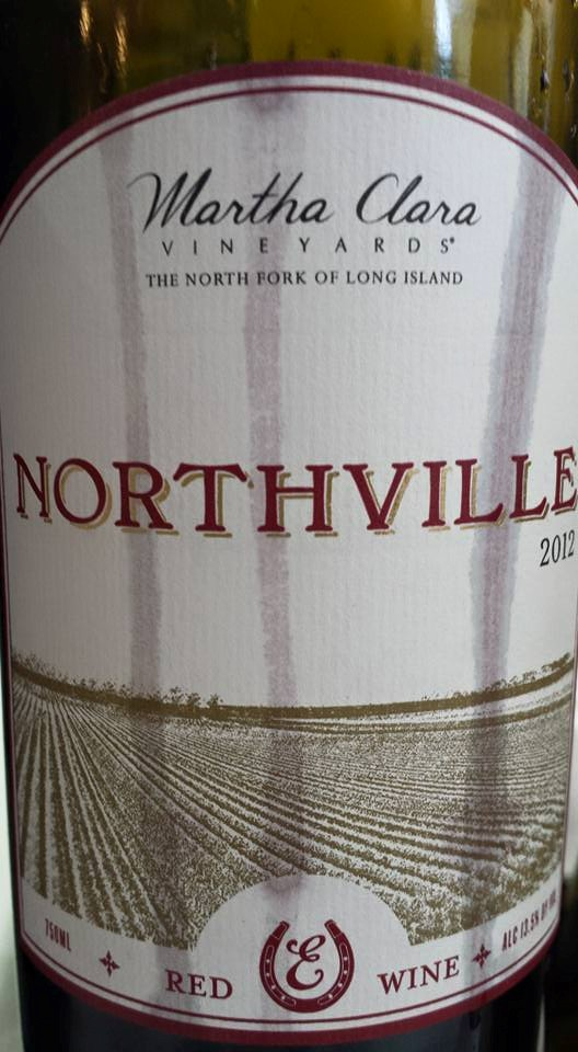 Martha Clara Vineyards – Northville 2012 – Red Wine – North Fork of Long Island