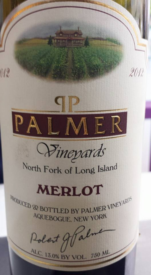 Palmer Vineyards – Merlot 2012 – North Fork of Long Island
