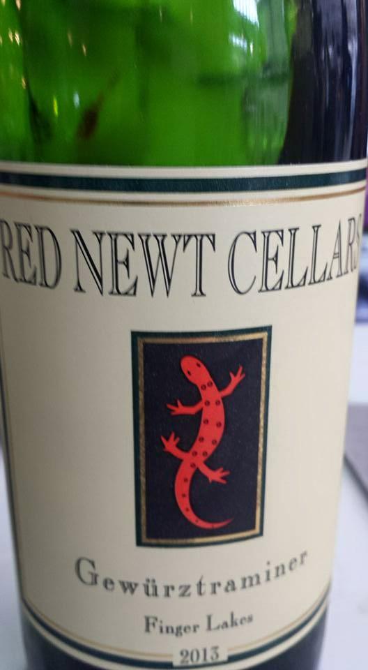 Red Newt Cellars – Gewürztraminer 2013 – Finger Lakes