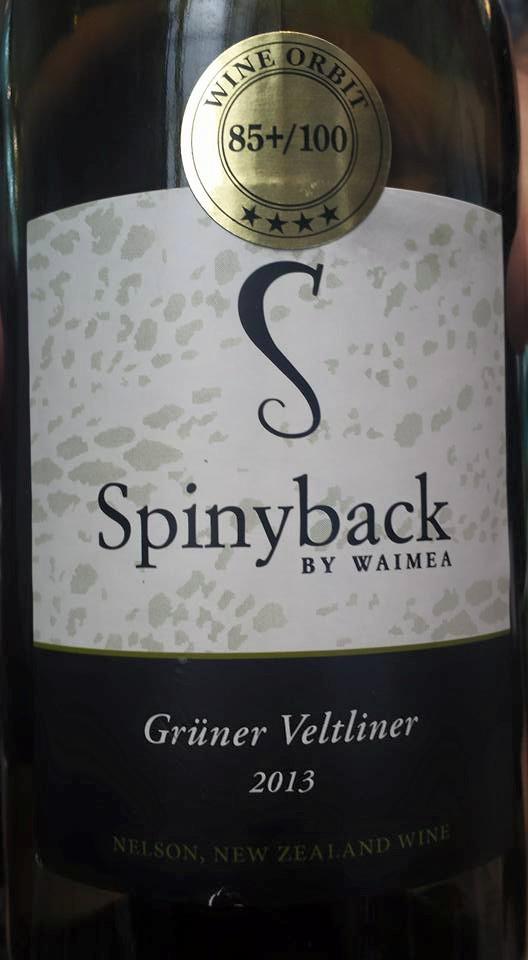 Spinyback by Waimea – Grüner Veltliner 2013 – Nelson
