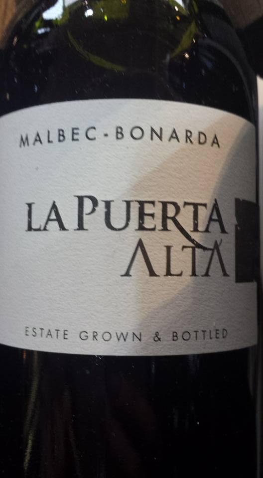 Valle de la Puerta – La Puerta Alta – Malbec – Bonarda 2013 – Famatina Valley – Argentina